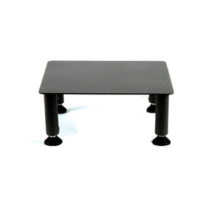 Fluteline small adjustable height monitor stand - 290 x 290mm