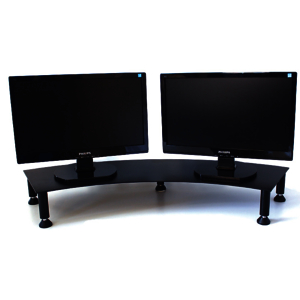Fluteline dual monitor stand 900 x 260mm